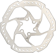 Load image into Gallery viewer, Promax E1 Endurance Disc Brake Rotor (160mm, 6-Bolt)-Silver
