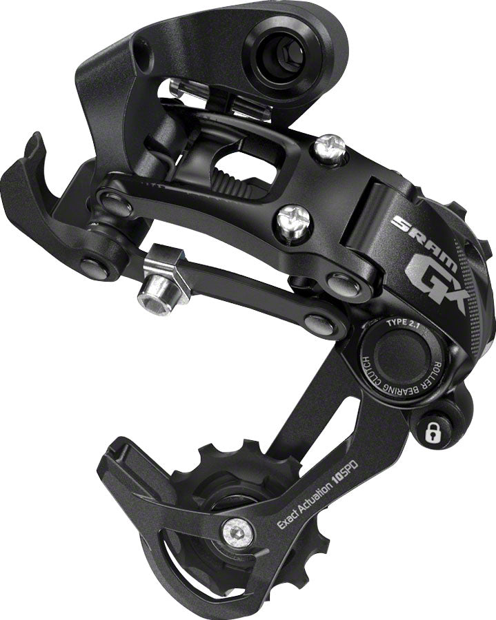 SRAM GX Rear Derailleur - 10 Speed, Medium Cage, Black