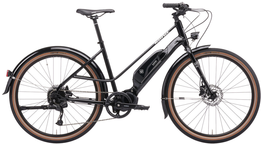 Ecoco E-Bike Gloss Metallic Black Size LG