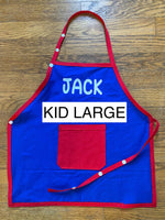 "Apron - Kid Large (height between 50"" - 60"")"