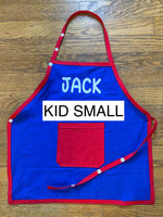 "Apron - Kid Small (height under 40"")"