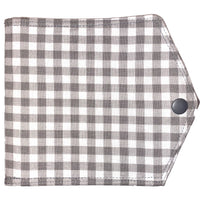 Face Mask Keeper - Gray Plaid
