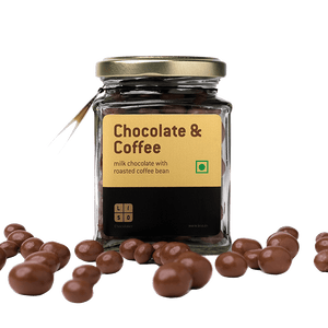 Milk Chocolate with Coffee beans