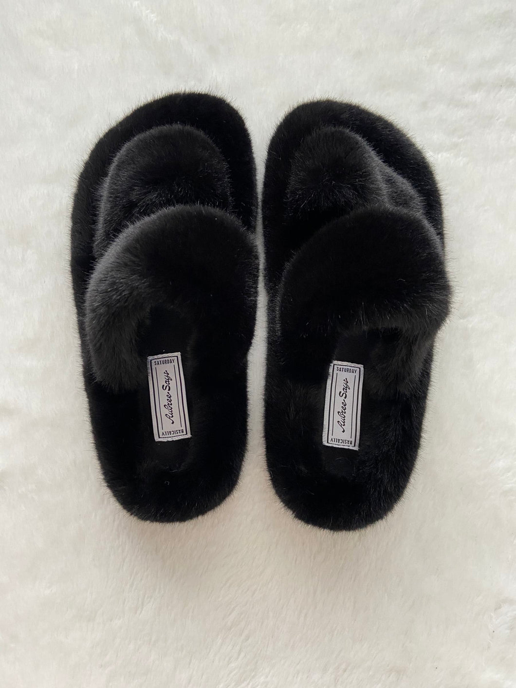 The Fluffiest Slippers