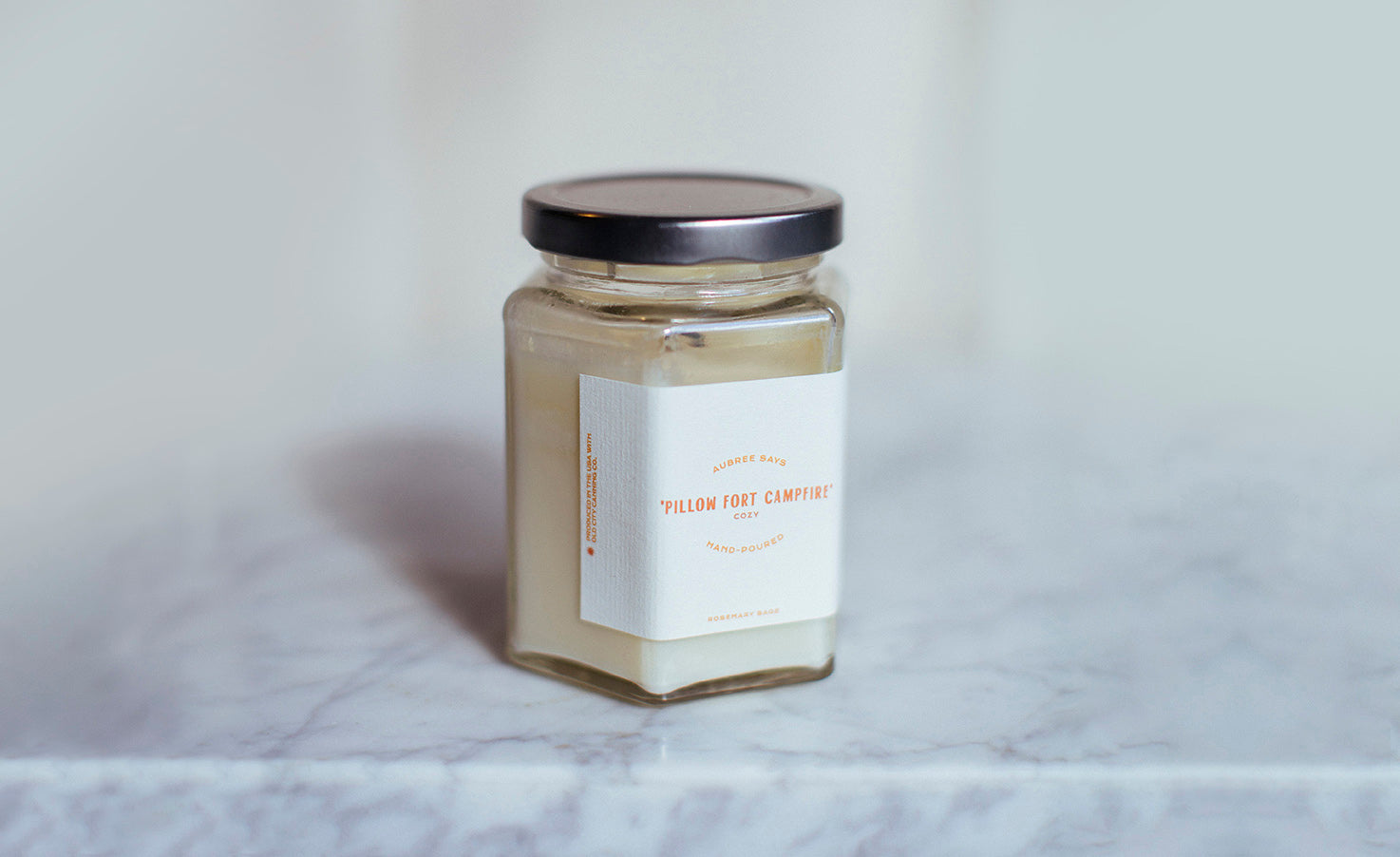 Scented candle for family fun