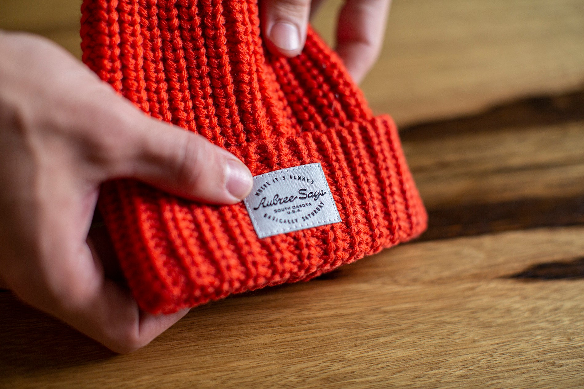 Matching mommy and me beanies for kids and babies