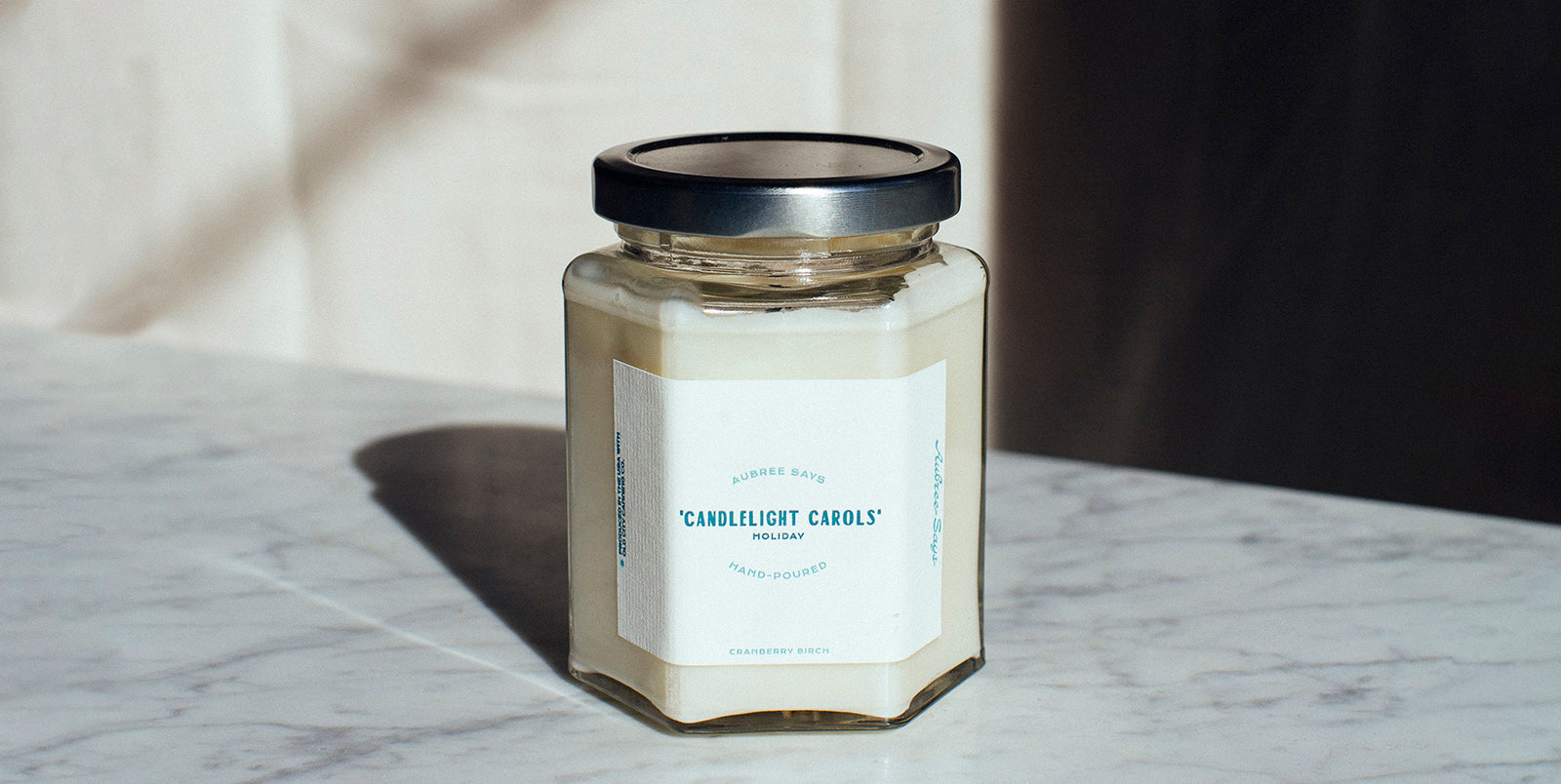 Candlelight carols scented candle
