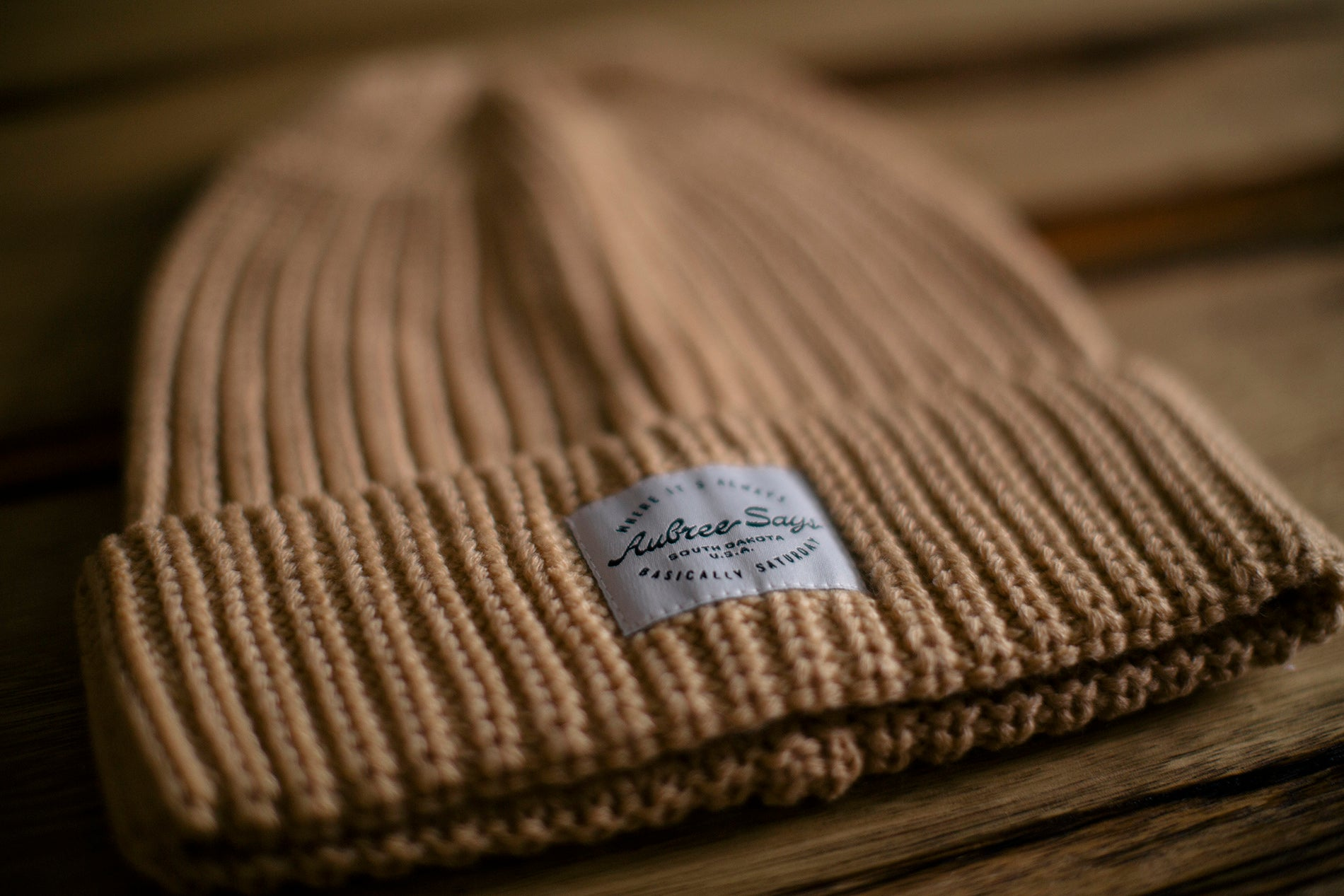 Chunky woven winter hat