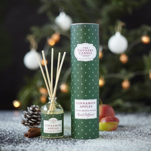 Cinnamon Apples - Ilmstrá / ilmglas - The Country Candle Company