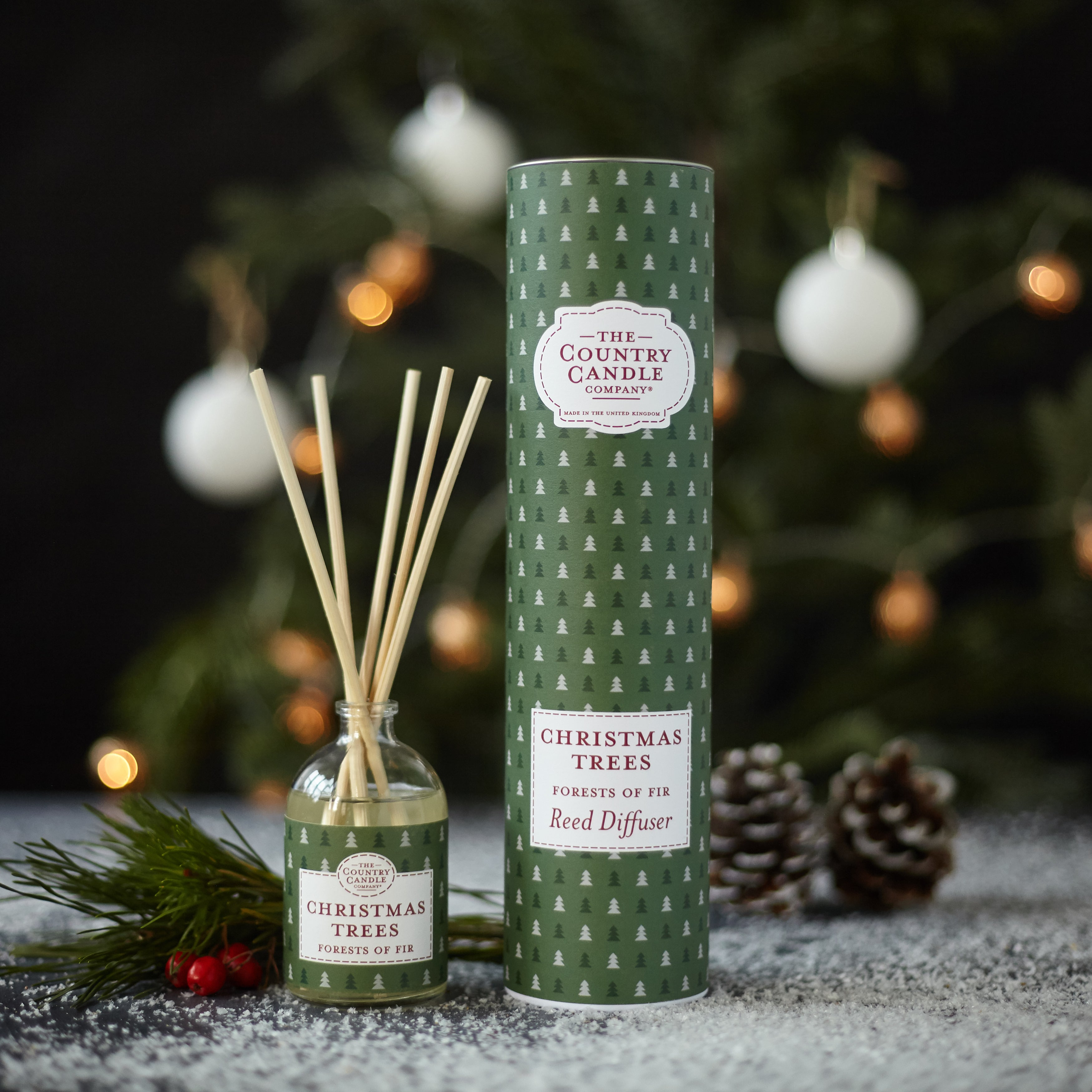 Christmas Trees - Ilmstrá / ilmglas - The Country Candle Company