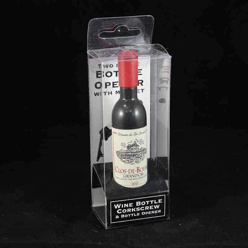 Wine Bottle Corskscrew & Bottle Opener with Magnet - Clos-De-Bourg