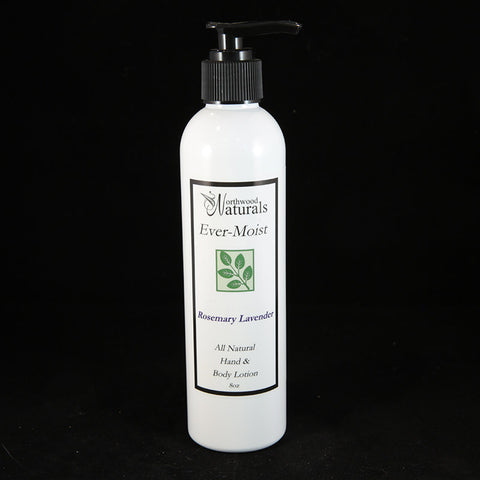 Northwood Naturals Ever-Moist Rosemary Lavender Hand & Body Lotion 8 oz.
