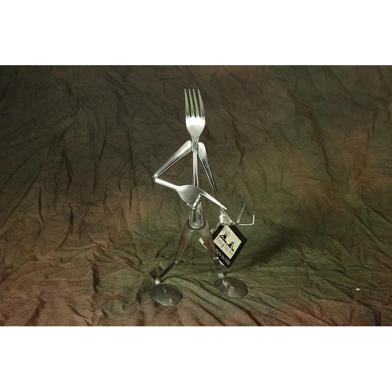 Forked Up Art - - 3 forks 2 spoons