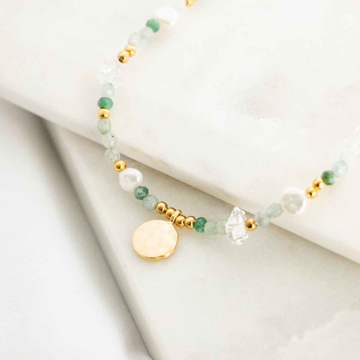 Florentine Mist Necklace