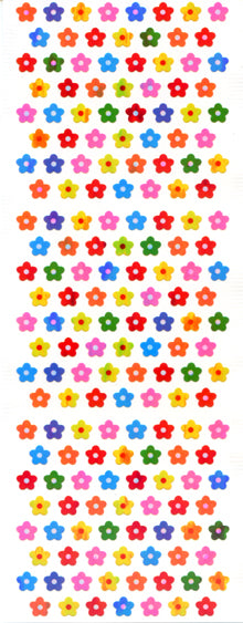 CA349 AURORA STICKERS MINI FLOWERS