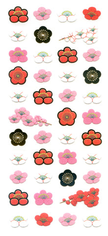 JF519 WASHI STICKERS  UME