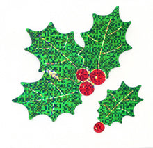 XL051 CHRISTMAS LARGE STICKERS Holly
