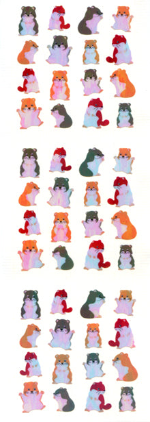 YA211 AURORA STICKERS HAMSTERS