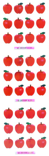 YA341 AURORA STICKERS APPLES