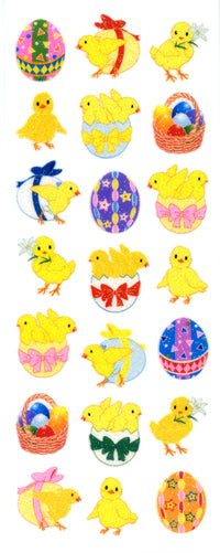 ZR306 SPARKLIES EASTER CHICKS