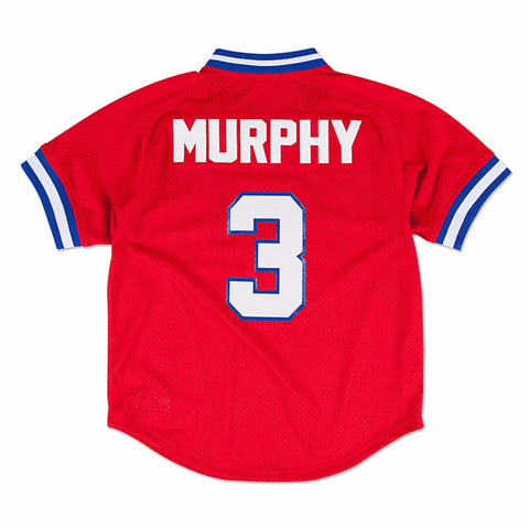 Dale Murphy Atlanta Braves MLB Mitchell & Ness Men's Red 1980 Authentic Throwback Batting Practice Jersey