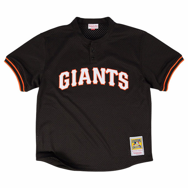 Matt Williams San Francisco Giants MLB Mitchell & Ness Men's Black 1995 Authentic Throwback Batting Practice Jersey