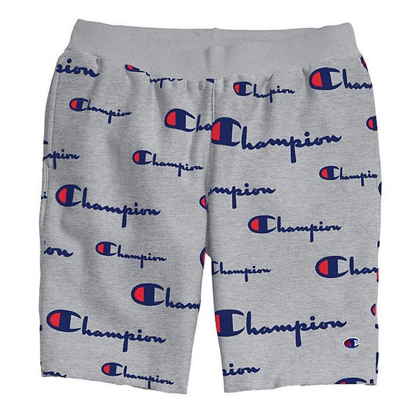 Champion LIFE Reverse Weave All Over Print Cut Off Shorts