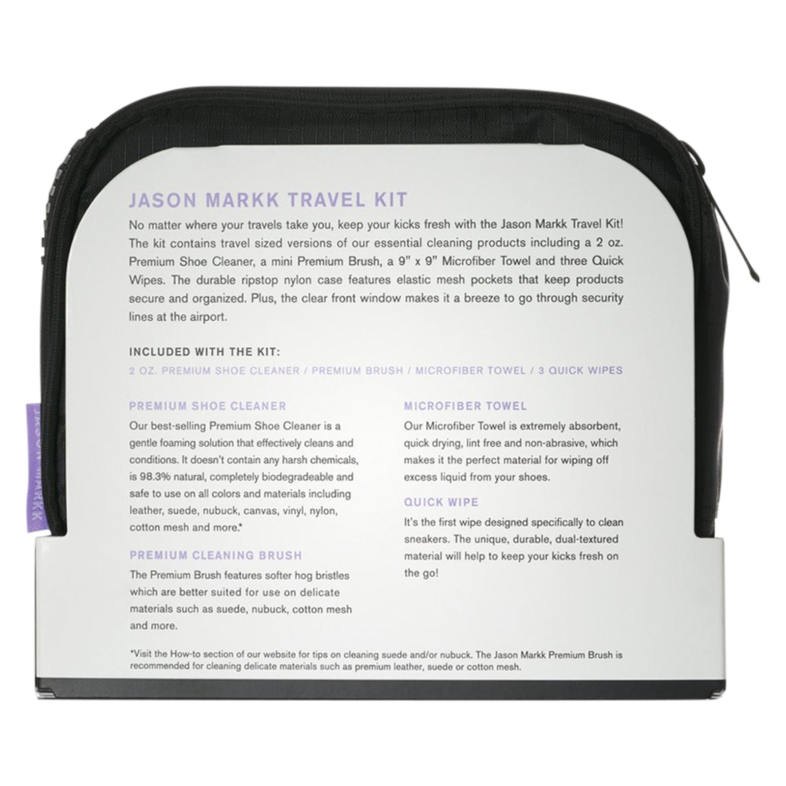 Jason Markk Jason Markk Travel Shoe Cleaning Kit