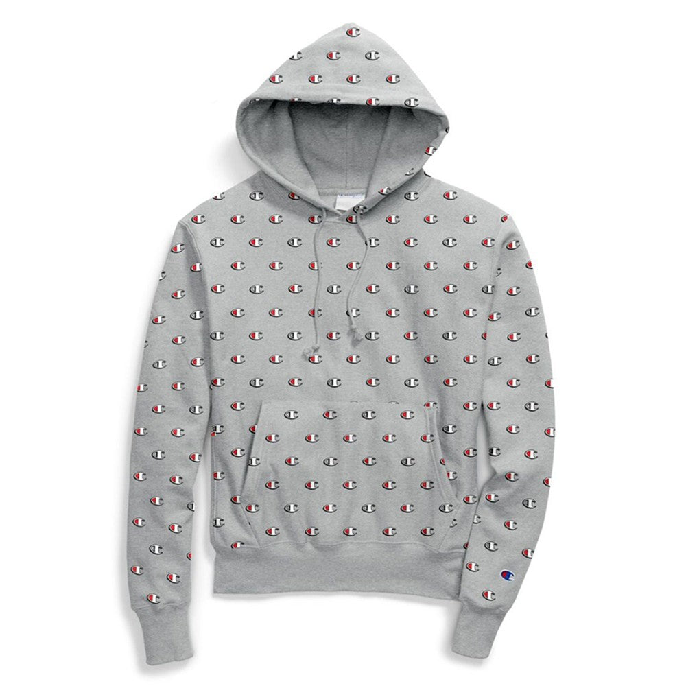 Champion LIFE Reverse Weave All Over Print Pullover Hoodie