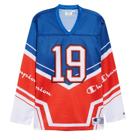 Champion LIFE Champion LIFE Men's Hockey Surf The Web/Scarlet/White Jersey Jersey
