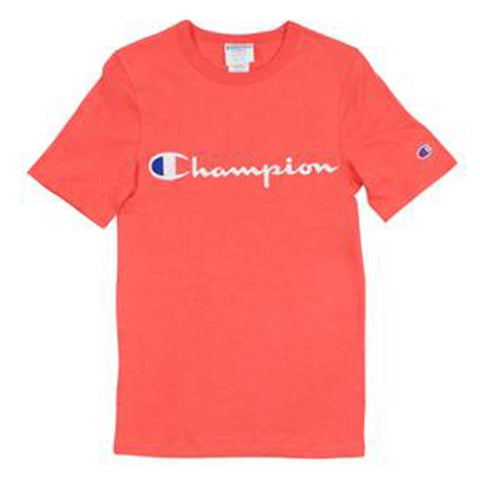 Champion LIFE Champion LIFE Men's Heritage Short Sleeve Groovy Papaya T-Shirt Shirt