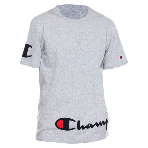 Champion LIFE Champion LIFE Men's Short Sleeve Oxford Gray T-Shirt Shirt