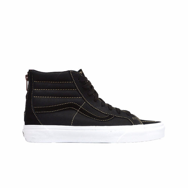 17f1d819fa Vans Premium Leather Sk8-Hi Reissue Zip Sneakers