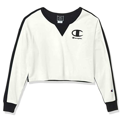 Champion LIFE Champion LIFE Women's Long Sleeve T-Shirt Chalk White/Black T-Shirt Shirt