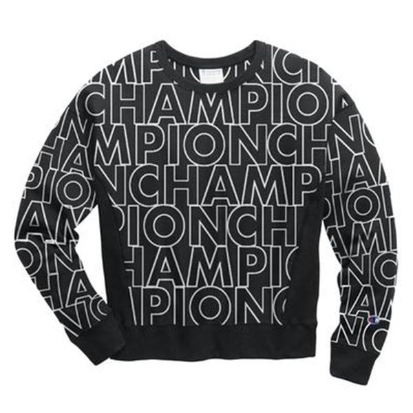 Champion LIFE Big Block Text Sweatshirt Women