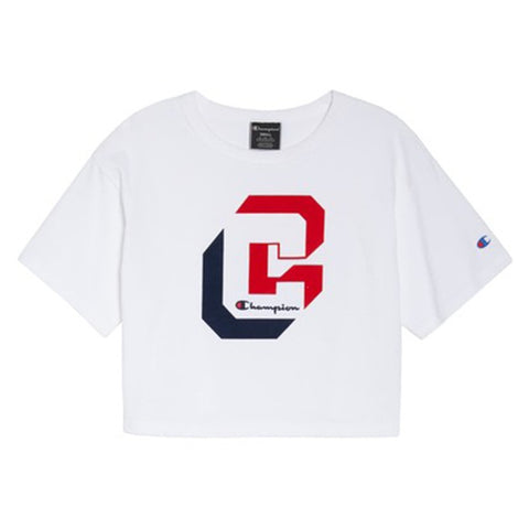 Champion LIFE Champion LIFE Women's Short Sleeve White T-Shirt Shirt