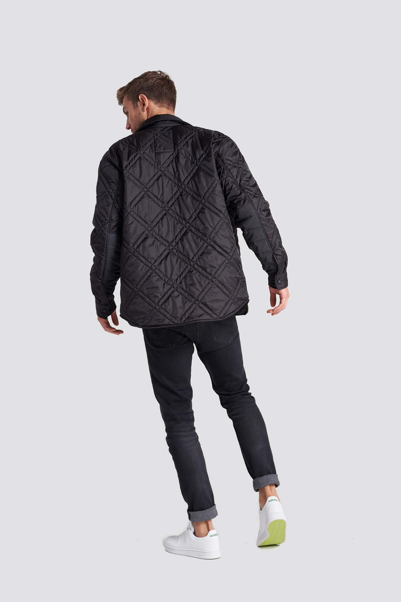 Armstrong Quilted Shirt Jacket