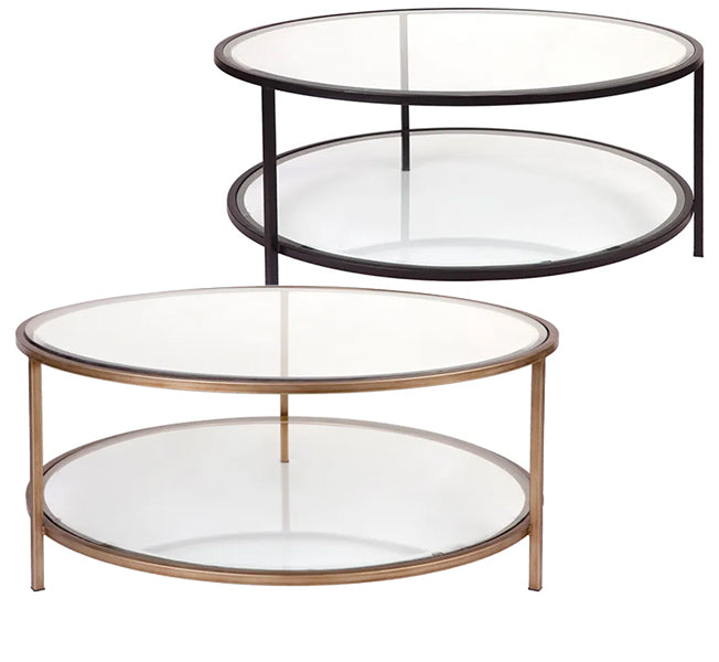 2 Tier Coffee Table – 2 Colour Options