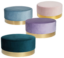 Load image into Gallery viewer, Macey Ottoman – 3 Colour Options