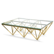 Load image into Gallery viewer, Louvre Coffee Table Large – Silver or Gold