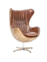 Load image into Gallery viewer, Leather Swivel Chair