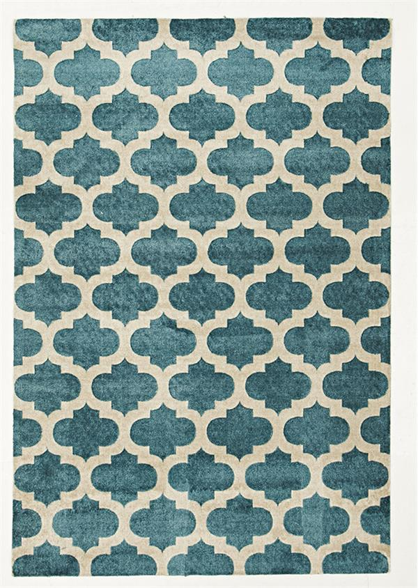 Printed Trellis Rug – Soft (5 Colours avail)