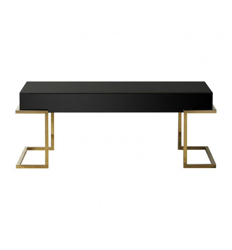 Holloway Black Mirrored Coffee Table