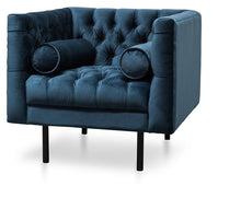 Load image into Gallery viewer, Portugal Armchair – Blue