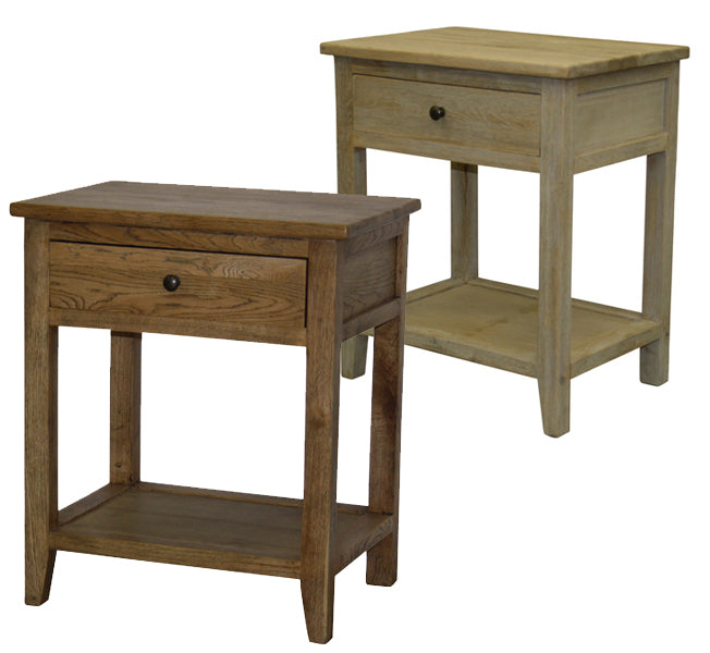 American White Oak Bedside – 2 Finishes