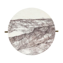 Load image into Gallery viewer, Marble Lilac Side Table