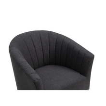 Load image into Gallery viewer, Prentice Charcoal Chair