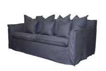 Load image into Gallery viewer, Slip Cover Hamptons Sofa – 2 or 3 Seater