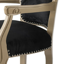 Load image into Gallery viewer, Pandora Black Armchair – Last few!