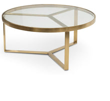 Load image into Gallery viewer, Gregory Brushed Gold Coffee Table